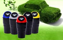 Convenient Mini Auto Car Home Trash Rubbish Can Garbage Dust Case Holder Box Bin Dustbin New Dropping Shipping&