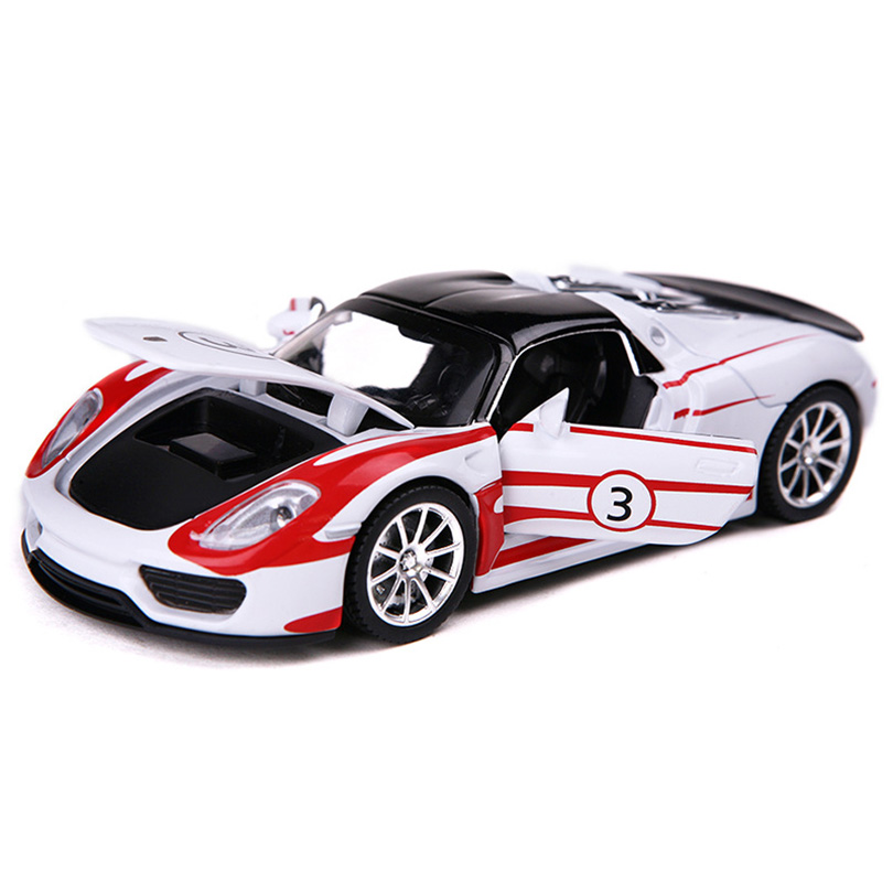 1:32 Martini Super Simulation Toy Car Model Alloy Pull Back Children Toys Genuine License Collection Gift Off-Road Vehicle Kids