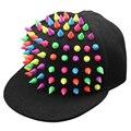 Bom negócio de moda de nova unisex rebite boné de beisebol snapback chapéu hop dace chapéus presente 1 pc