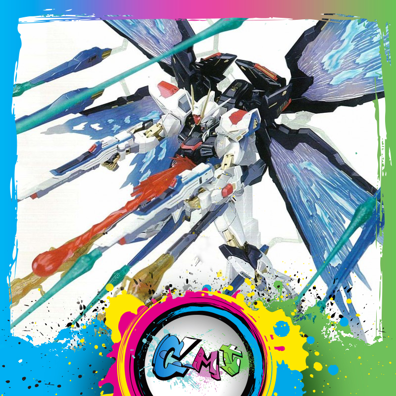 CMT IN STOCK DM 1 100 METAL FRAME STRIKE FREEDOM WING OF LIGHT EFFECT PART ANIME