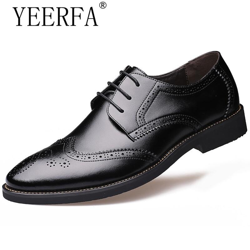 Chaussures pour hommes italiens marques chaussures oxford pour hommes zapatos hombre hommes bout pointu chaussures habillées en cuir véritable richelieu formel hommes
