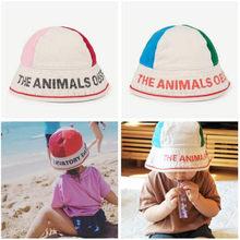 074969a4 Baby 2019 Summer Hat Cap TAO Brand Kids Patchwork Color Hat For Girls Boys  Bucket Caps Children Fisherman's Hat 2-6Y