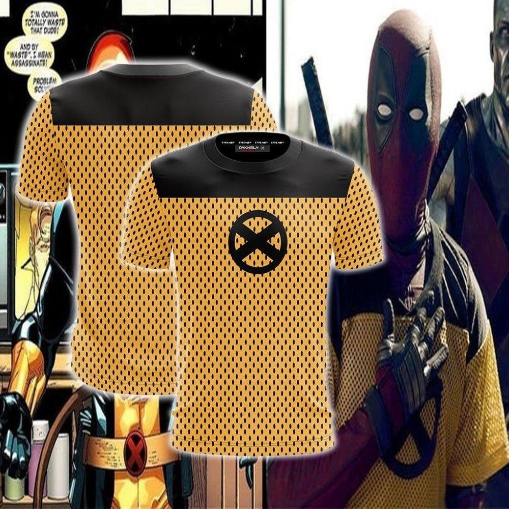 Deadpool 2 Cosplay Unisex 3D T-shirt