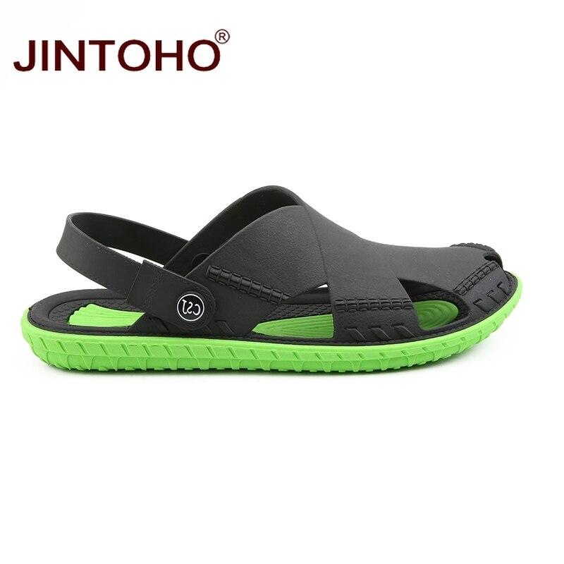 Image 3 - JINTOHO Summer Mens Sandals Fashion Summer Beach Shoes Casual Beach Sandals Outdoor Male Sandal 2019 Sandalias MenMens Sandals   -