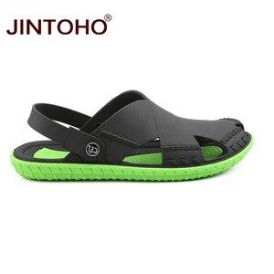 Image 3 - JINTOHO letnie męskie sandały moda lato plaża buty sandały plażowe na świeżym powietrzu mężczyzna sandały 2019 Sandalias męskie