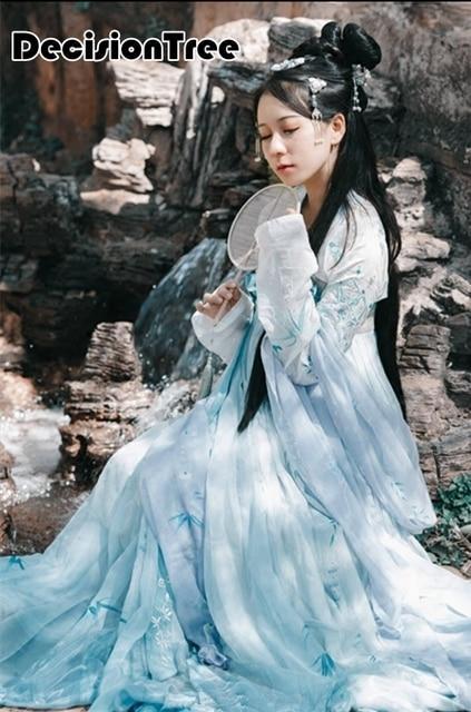 2019 new ancient chinese costume women women's hanfu dresses china hanfu dress cosplay clothing traditional women ancient