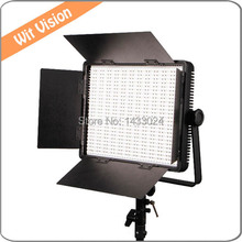 Nanguang cn-900sa 54 Вт Пластик Портативный Светодиодные лампы видео панели светодиодный свет студии с V крепление Батарея пластина для кино ТВ
