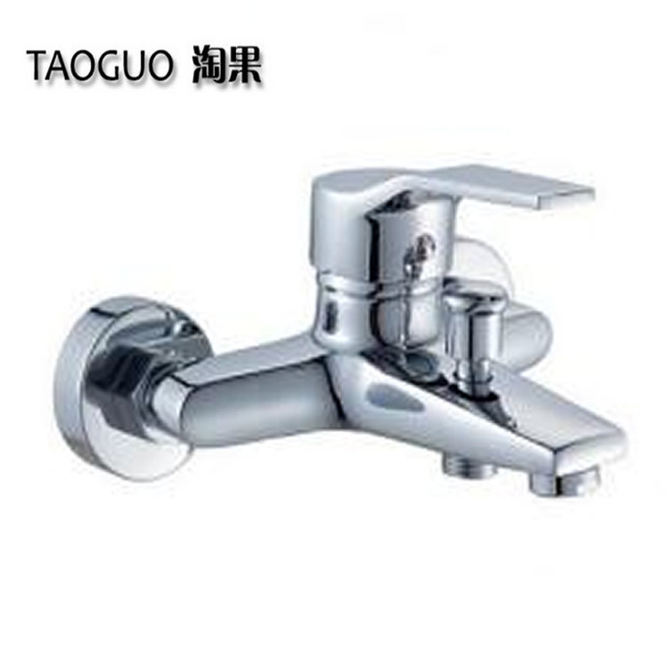 All copper and zinc alloy bathtub faucet IELTS triple shower faucet hot and cold mixed water