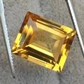 Alta clareza natural citrino pedra solta peso 9 ct tamanho 12mm * 14mm * 5mm topázio solta saffronite