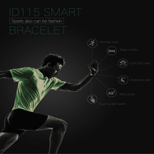 ID115 Smart Bracelet Sleep Activity Fitness Tracker Alarm Clock Pedometer For IOS Android pk Fitbits
