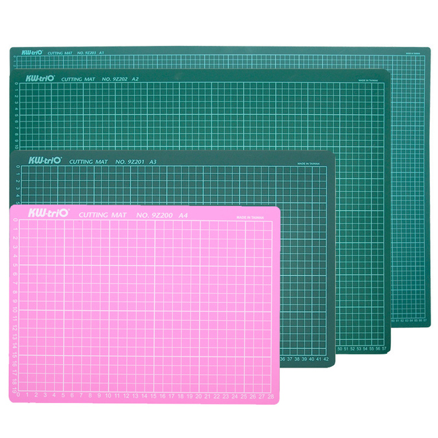 A1 A2 A3 A4 PVC Cutting Mat Patchwork Pad Self Healing Cutting Board Double-Sided Paper Cutter DIY Tools Office School Supplies