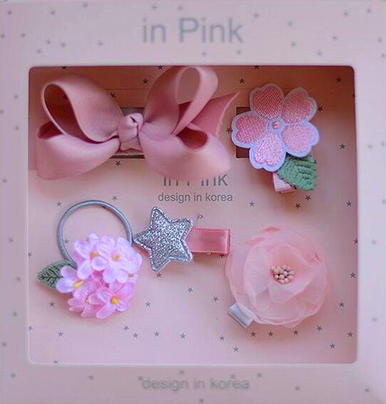 Nova djeca Dječji dodaci za kosu poklon kutija Cvijeće Isječci za - Pribor za odjeću - Foto 5