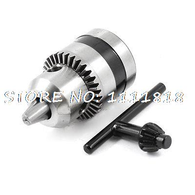 Tapered 1.5-10mm Capacity B12 Mount Electric Drill Chuck w Key