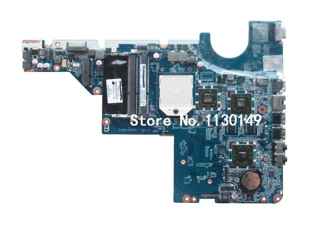 Envío libre 611555-001 para hp compaq cq42 g42 cq62 g62 da0ax2mb6e1 laptop motherboard prueba del 100% en ok