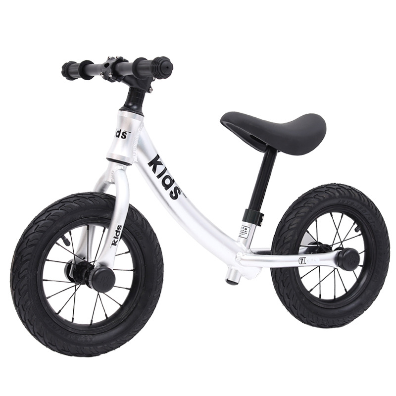12 Inch Aluminum Balance Bike Toddler No Pedals For 2 – 6 Year Old, 2 Wheel 2