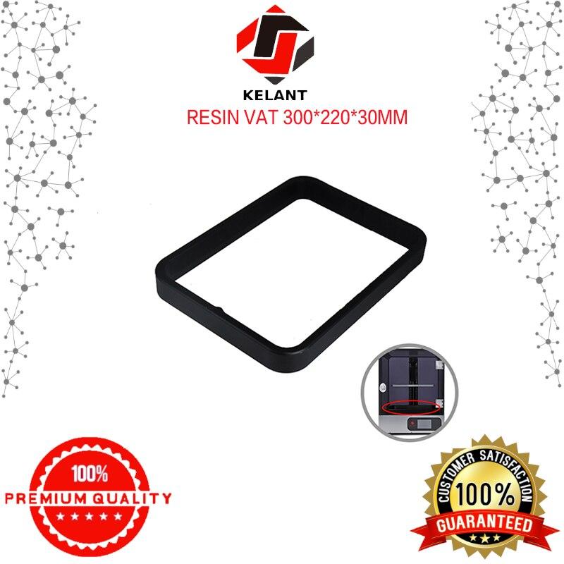 Kelant Anodized Aluminium Resin Vat Tank for S400 3d Printer parts Fully Metal Frame and Durable