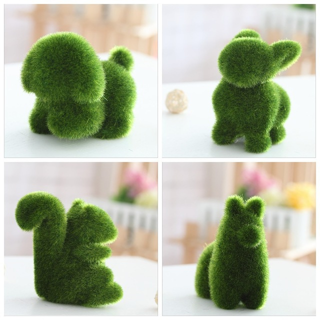 decorative plants for office. small animals artificial grass decorations land plants potted crafts home office decoration decorative flowers for f