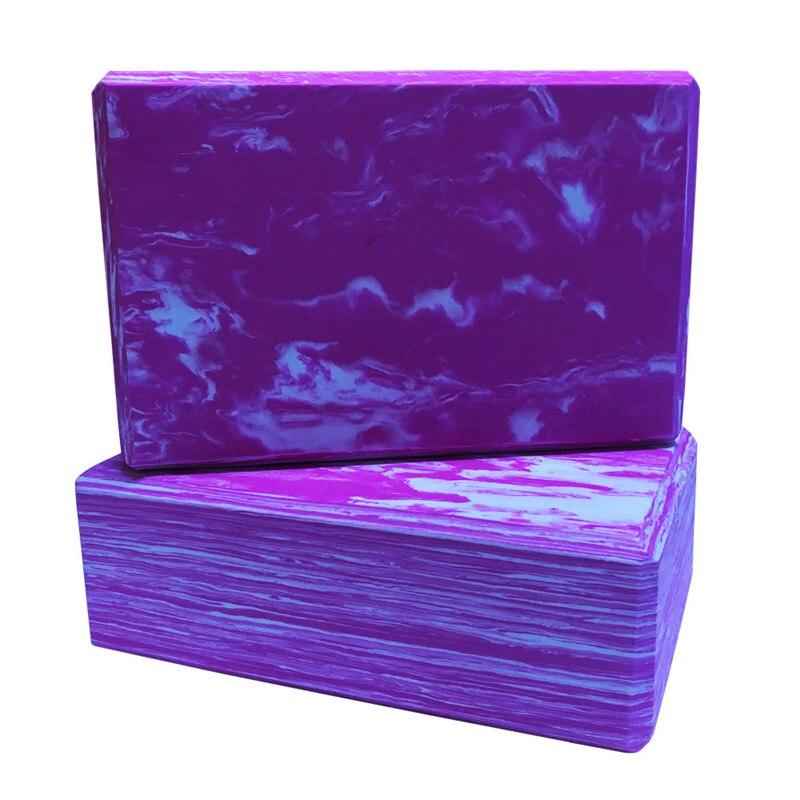 <+>  Yoga Blocks 2 PCS Density EVA Пенные блоки для поддержки и углубления поз  улучшения прочности  гибк ①