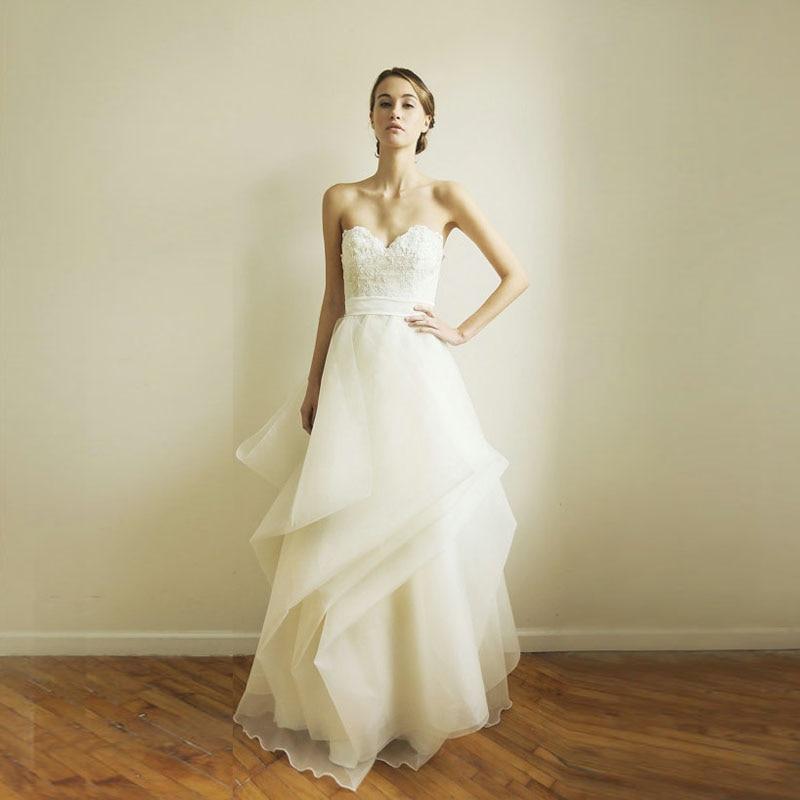 2016 New Simple Chic Elegant Wedding Dress Cheap