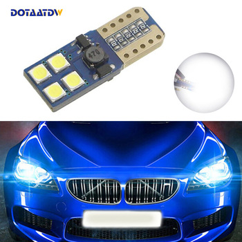 1x T10 LED W5W Samsung Car Clearance Light Bulbs For BMW E46 E39 E91 E92 E93 E28 E61 F11 E63 E64 E84 E83 F25 E70 E53 E71 E60 image