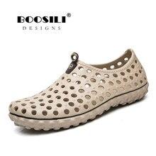 Sandalias Hombre 2019 New Arrival Big Size Mens Clogs Antiskid Outdoor Lightweight Assage Sandals Fashion Men Beach Shoes