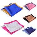 Pañuelo 100% de satén de seda Natural para hombre del pañuelo de moda banquete de boda Classic Pocket Square # n14