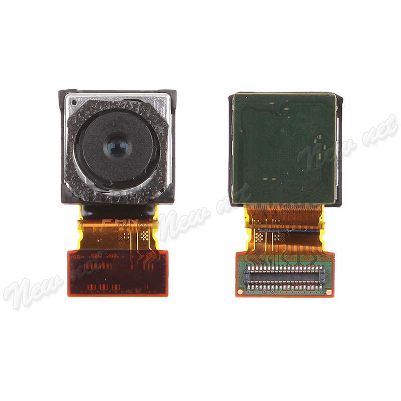 Back Rear Big Camera Lens Ring Cover Module Flex Cable For Sony z3 Z 3 Replacement