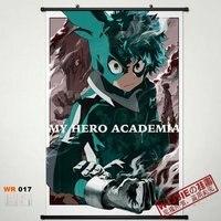 Japón anime anime home decor poster pergamino pintura boku no hero academia midoriya izuku primavera