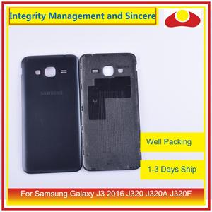 Image 5 - 50Pcs/lot For Samsung Galaxy J3 2016 J320 J320A J320F J320M J320FN Housing Battery Door Rear Back Cover Case Chassis Shell