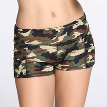 8bd1355ba5db7 Hot Women's Short Pants Camouflage Print Athletic Summer Sports Pant High  Waist Fashion 2019 New Arrival