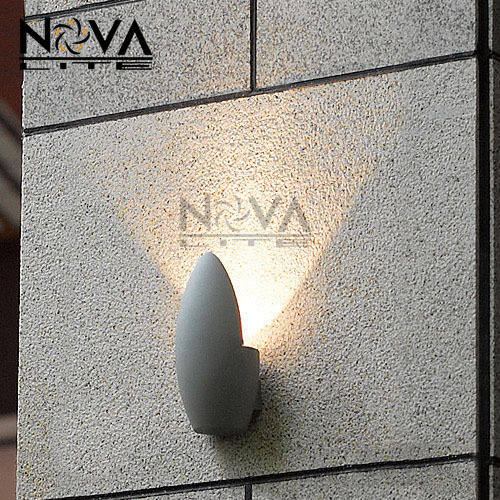 5W indirect wall lamp LED exterior wall light,IP54 outdoor lighting with SHARP COB LED and built-in driver AC230V input цена и фото