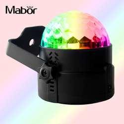50-60 Гц 3 Вт хрустальный шар дистанционного Управление светодиодный свет этапа автоматический режим США Plug/ЕС Plug
