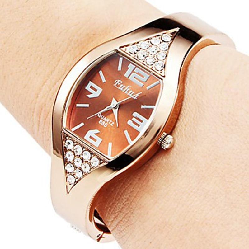 2019 New Rose Gold Bracelet Women Watch Rhinestone Women's Watches Ladies Watch Clock Montre Femme Relogio Feminino Reloj Mujer