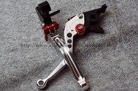 Short Pair CNC Brake Clutch Levers For Kawasaki GPZ500S GPZ500 S GPZ 500S GPZ 500 S