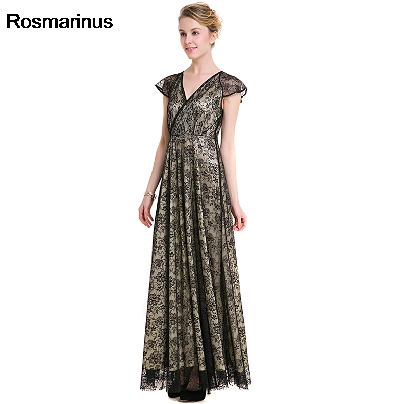 Women Plus Size Dresses Short Sleeve V Neck High Waist Maxi Party Dresses  Floor Length Long Lace Dress Vintage Robe Longue Femme-in Dresses from  Women s ... 6a02285f9e2b