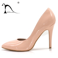 Shoes   Woman Heels Summer Pumps Female Wedding High Heels Sexy High Heel   shoes   for Women 4 colors 10.5CM Genuine Leather Insole