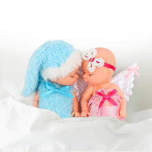 LOL Ball Angel Doll Girl Smuk Cute Open Egg Toy Fødselsdagsgave Mini Baby Action Figur Legetøj til Kids Leddene kan rotere