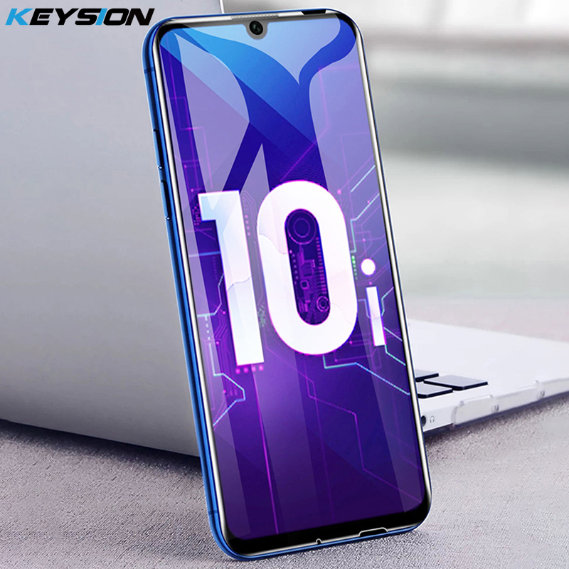 KEYSION Glass For Huawei Honor 10i 20i 10 V20 Tempered Glass Full Cover Shockproof Screen Protector Glass For Huawei Honor 10i
