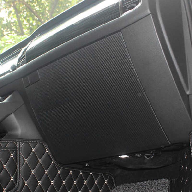 Для SKODA KODIAQ 2016 2017 2018 PU кожа углеродного волокна двери автомобиля Противоскользящий мат Co-pilot положение бардачок Противоскользящий мат pa