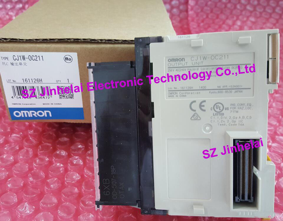 CJ1W-OC211  New and original  OMRON PLC CONTROLLER  Output unit 100% new and original cj1w nc433 omron position control unit