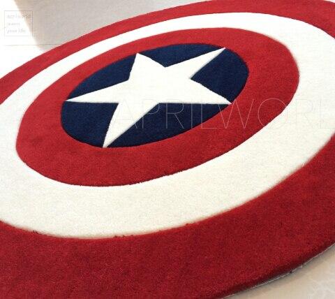 Yeni Kapitan Amerika Qalxan xalçasını özelleştirin İngiltərə - Ev tekstil - Fotoqrafiya 4