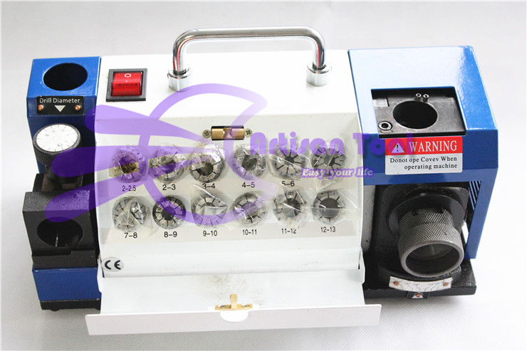 лучшая цена New Version Resharpening 2-13mm Drill Grinding Machine(JD-213) Grinder Sharpener Machine Tools