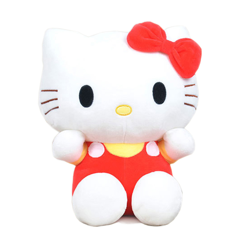 20cm Kawai hello kitty plush toys High-quality Stuffed dolls for girls kids toys gift action & toy figure & hobbies free shipping hello kitty toys kitty cat fruit style pvc action figure model toys dolls 12pcs set christmas gifts ktfg010
