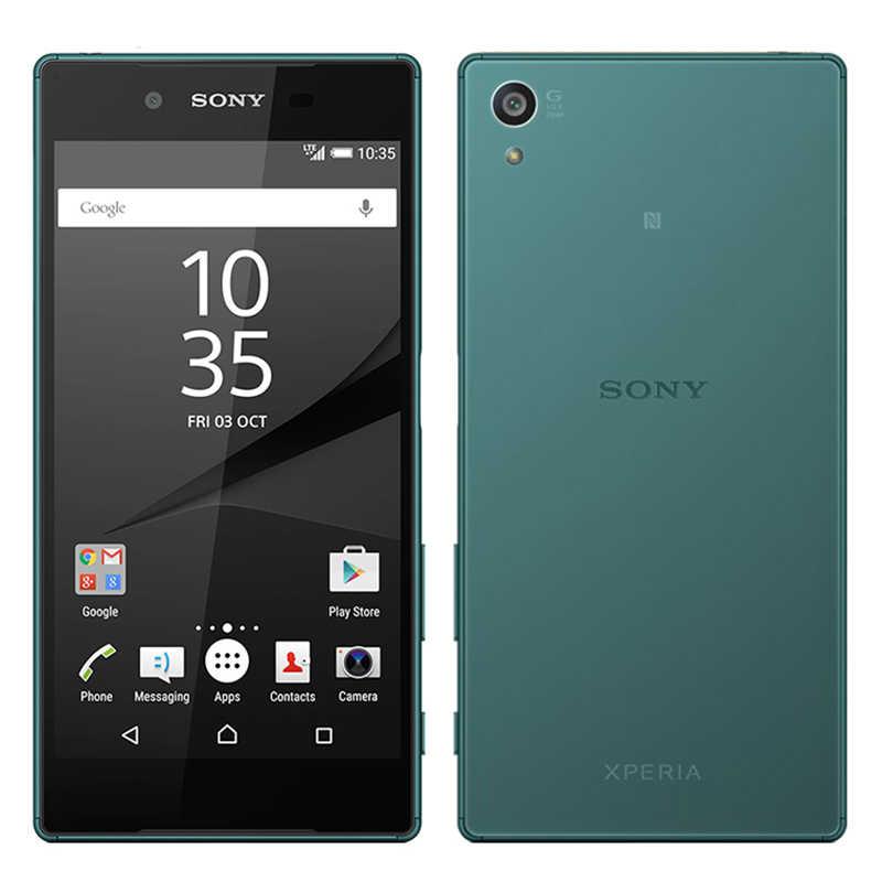 Оригинальный мобильный телефон sony Xperia Z5 E6683, 4G LTE, четыре ядра, 3G ram, 32G, две sim-карты, 5,2 МП rom, Android, 1080 дюймов, P, Smat, мобильный телефон