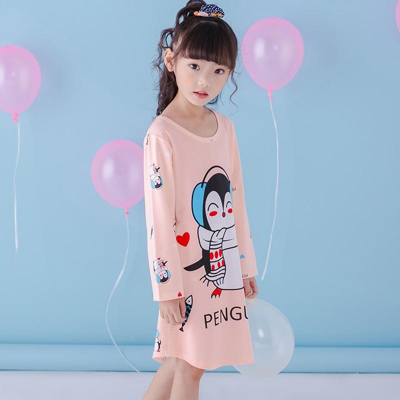Children Clothing 2018 Autumn Dresses Girls nightgown Baby spring ...