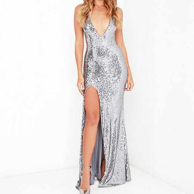 Sexy New Vintage Party Evening Long Dress Backless Prom Boho Maxi ...