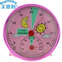 Домашний термометр для детской комнаты, гигрометр, мультяшный детский Измеритель температуры и влажности 12001899