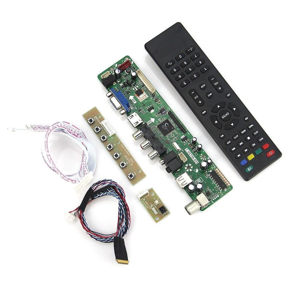 T.VST59.03 LCD/LED Controller Driver Board(VGA)  For LTN160AT06  LVDS Reuse Laptop 1366x768