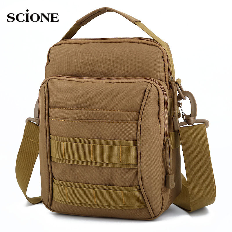 Shoulder Handbag Military Waist Packs Bags Tactical Molle Waterproof Men Women Chest Satchel Bolsa Multifunctional Sack XA500WA