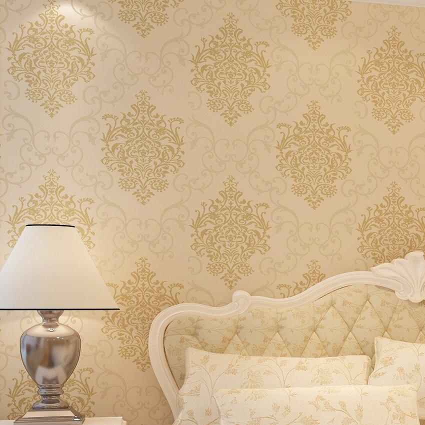 Beibehang embosse camera da letto carta da parati moderna - Carta da parati camera ...